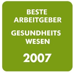 DBAG Gesundheitswesen Siegerlogo 2007