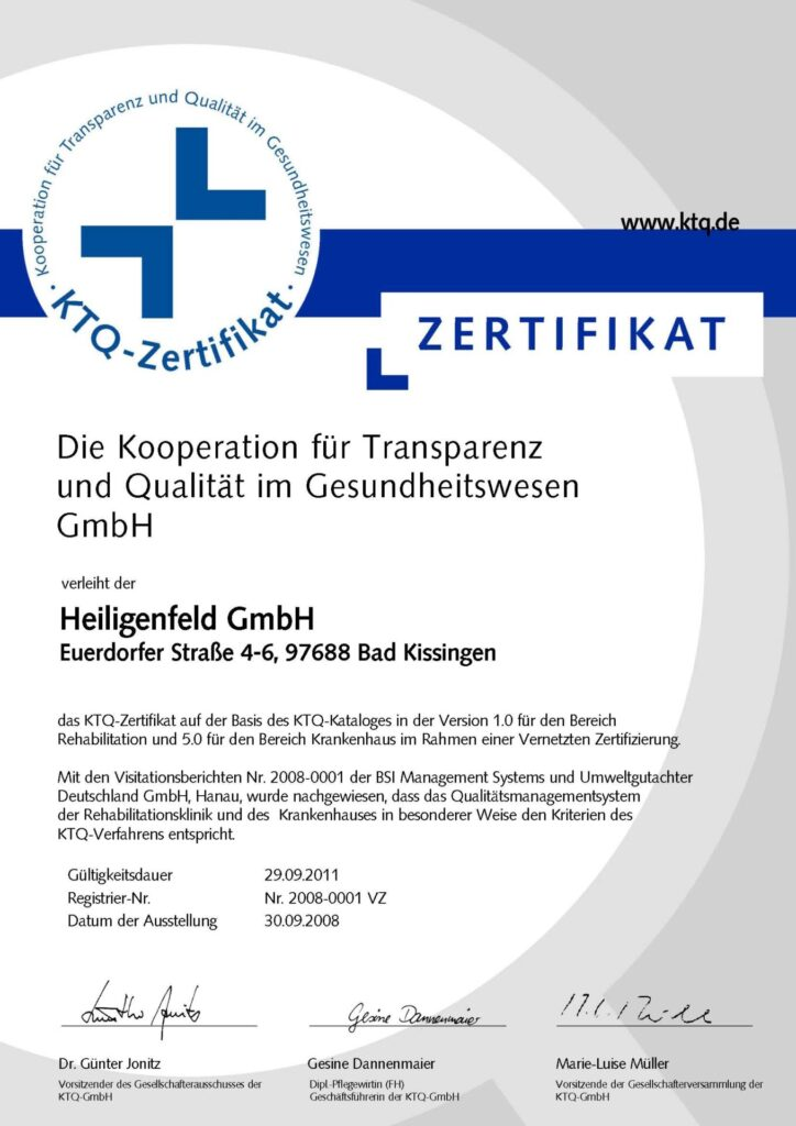 KTQ 2008 HF Urkunde