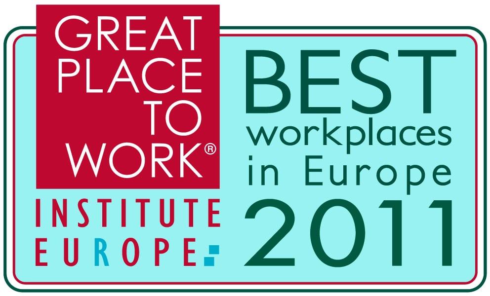 """2011 – """"Deutschlands Beste Arbeitgeber"""" 4. Platz im branchenübergreifenden Wettbewerb"""