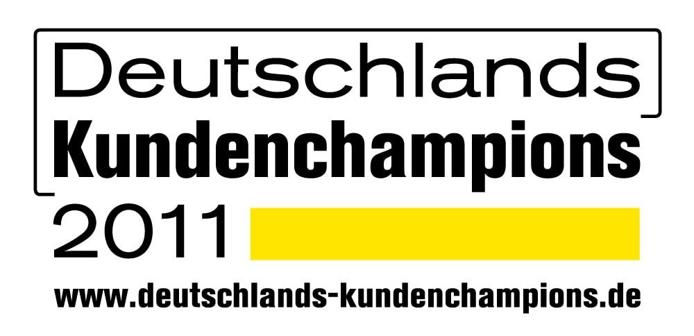 2011 – Deutschlands Kundenchampions – 2. Platz