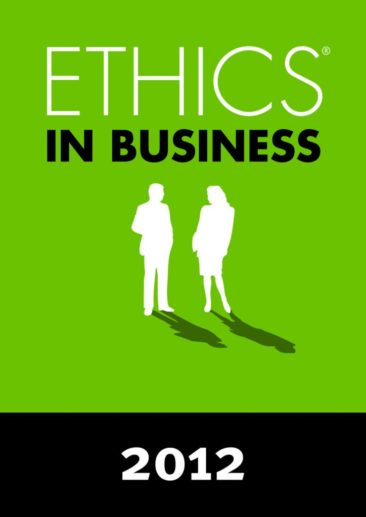 2012 – Ethics in Business