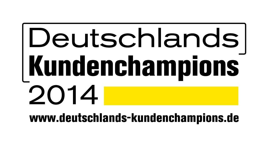 2014 – Deutschlands Kundenchampions – 1. Platz