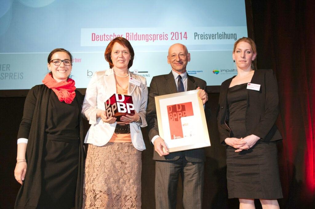 2014 – Deutscher Bildungspreis – Kategorie Innovationen