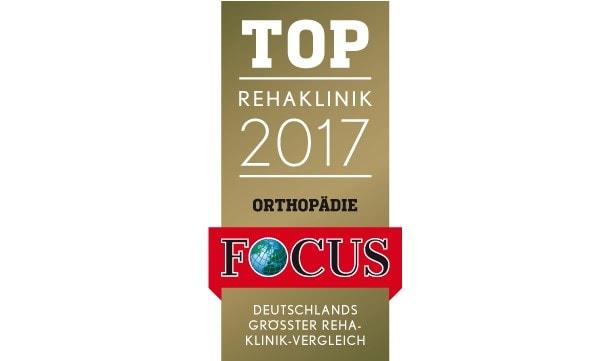 2017 – FOCUS Top-Rehakliniken