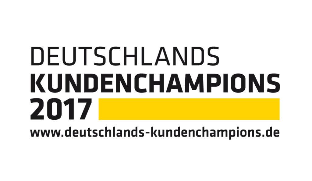 2017 – Deutschlands Kundenchampion – Top 3