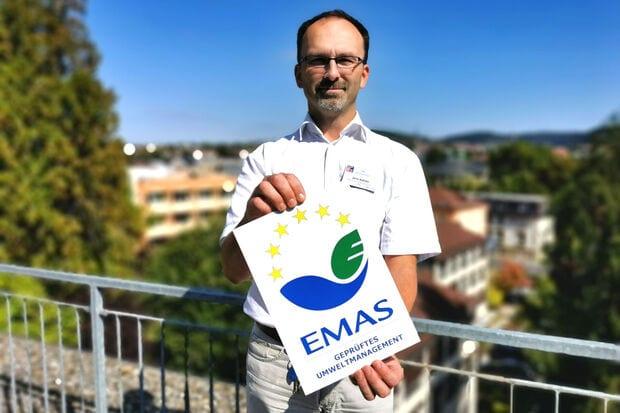 2020 – EMAS Rezertifizierung: Heiligenfeld Kliniken für ihren Umweltschutz ausgezeichnet