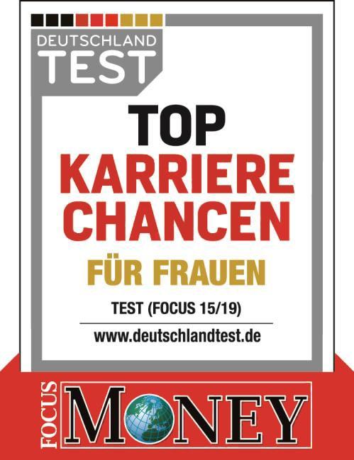"""2019 – FOCUS-MONEY: """"Top-Karrierechancen für Frauen"""""""
