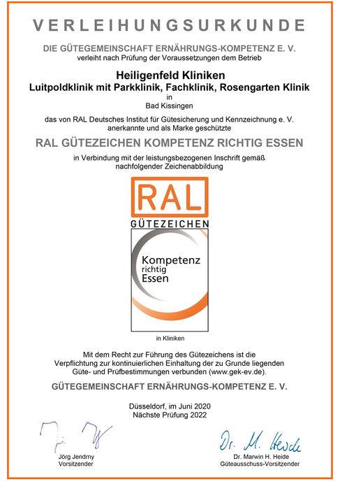 csm RAL Guetezeichen Urkunde 2020 Urkunde 54537942b2
