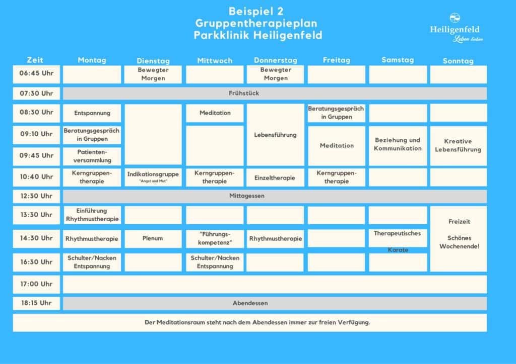 Therapieplan 2