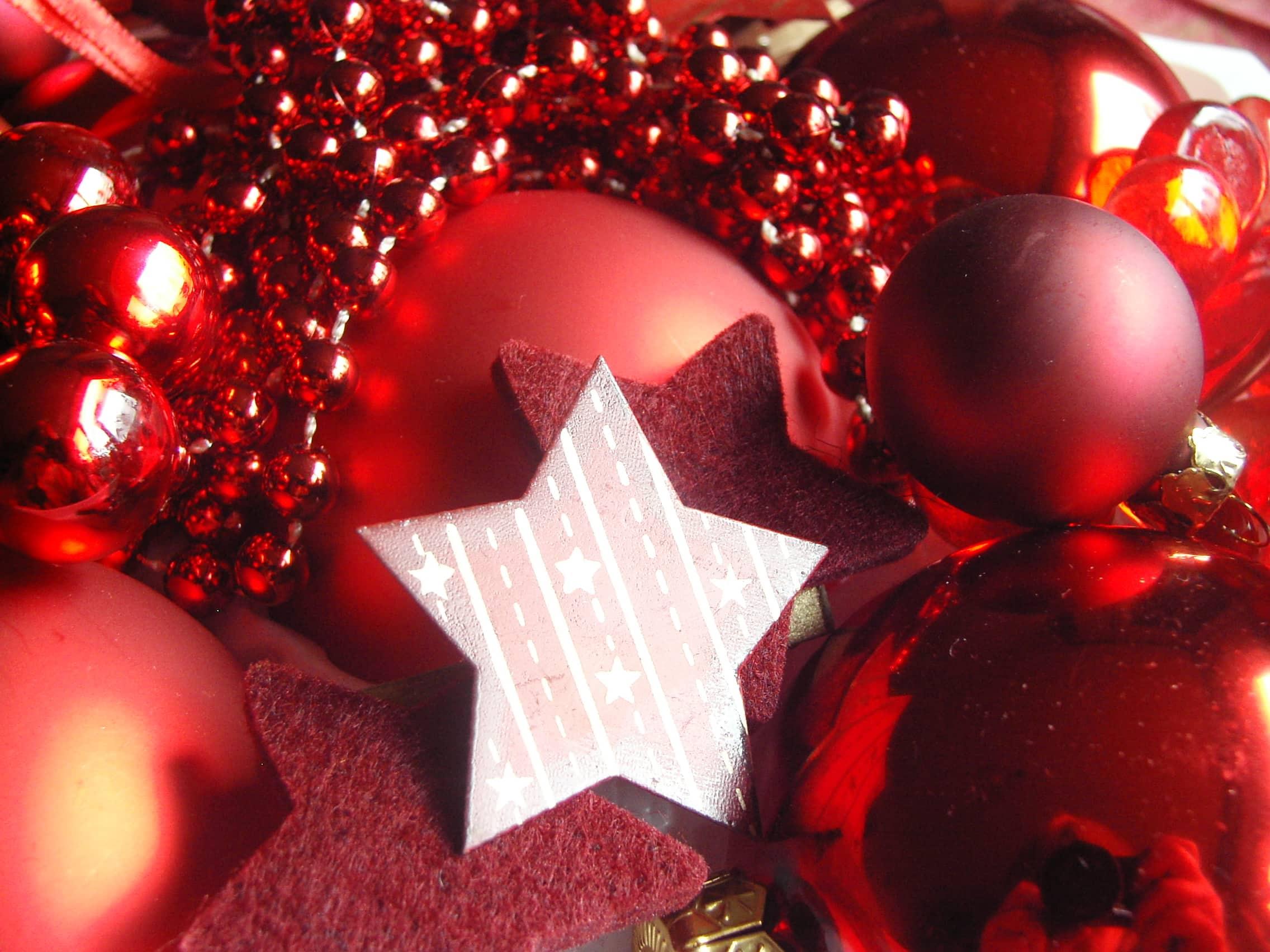 Weihnachtsdeko_rot