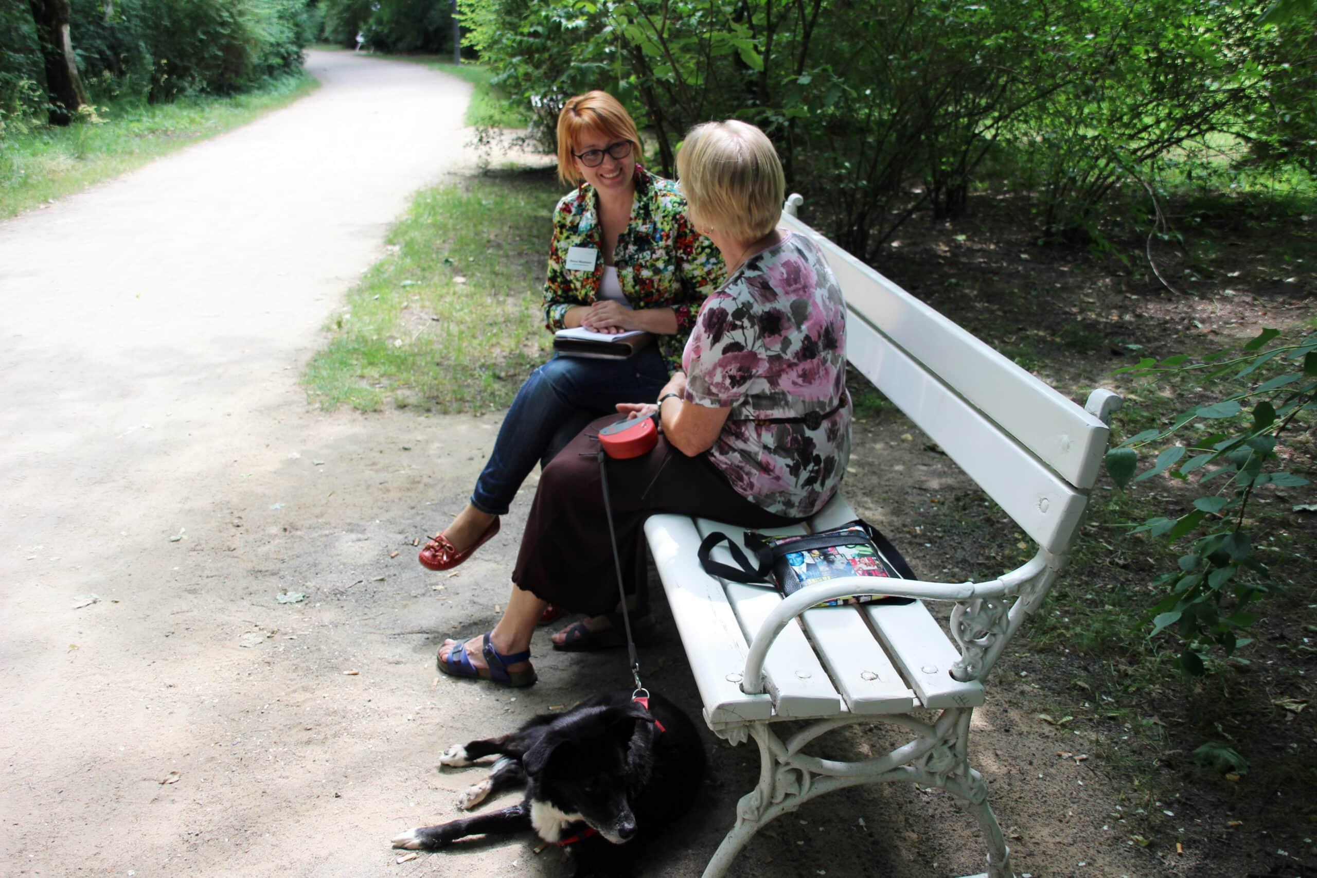 Interviews tierbegleitete Therapie