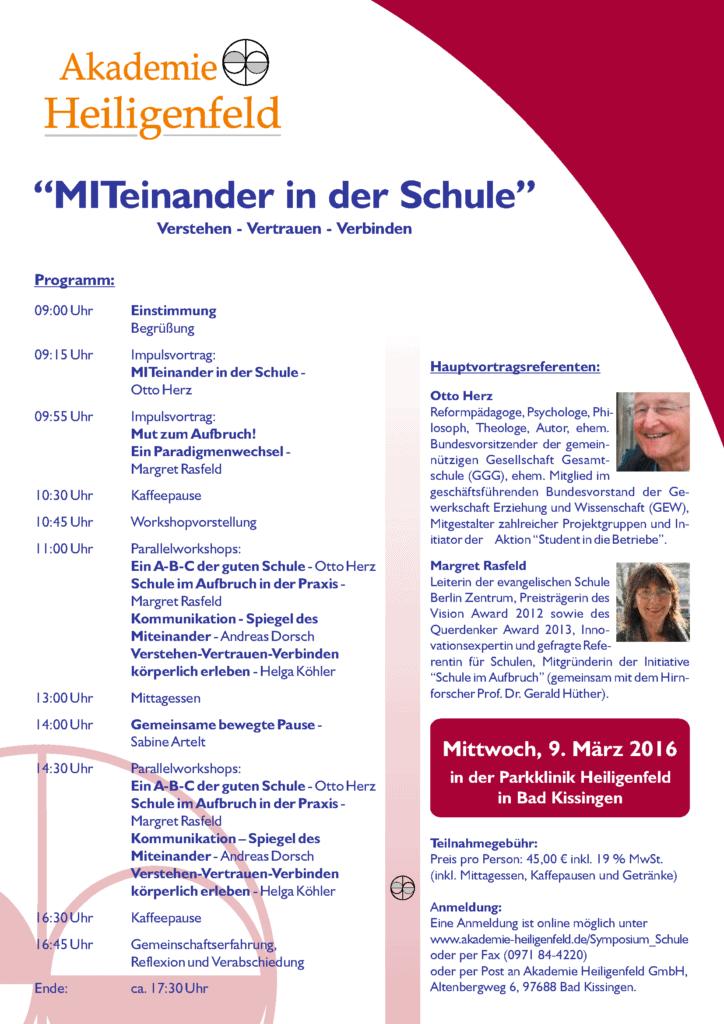 lehrer symposium akademie heiligenfeld