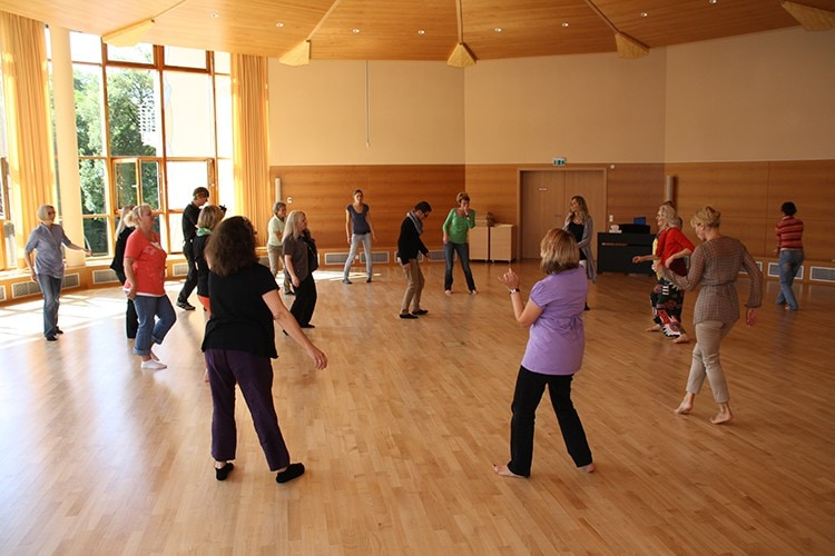 Tanztherapie Heiligenfeld Kliniken