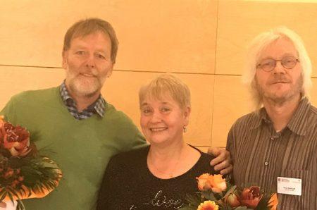 Von links: Dr. Stephan Deutsch, Dr. Alexandra Havlicova, Arno Kohlhoff. Foto: Tanja Meier