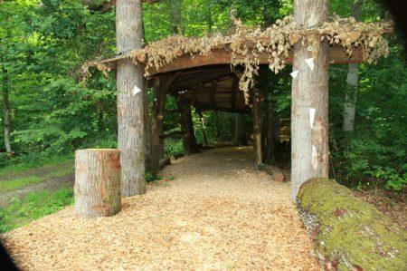 Eingang Wald für die Seele