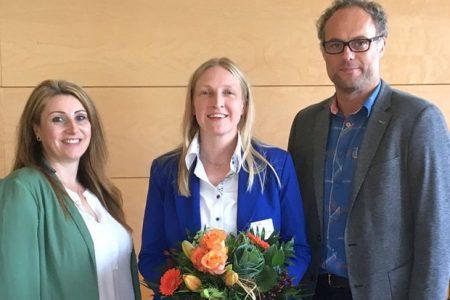 Von links: Tanja Meier (Klinikmanagerin), Dr. Sabine Barry (Chefärztin), Dr. Jörg Ziegler (Ärztlicher Direktor, Heiligenfeld GmbH).